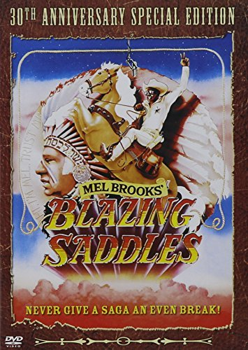 Blazing Saddles Little Korman Kahn Wilder Brooks DVD R