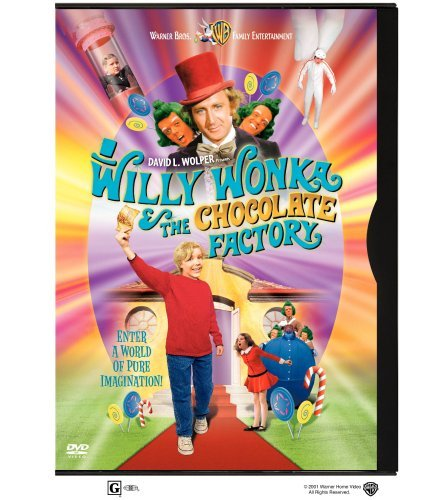 Willy Wonka & The Chocolate Factory Wilder Albertson Ostrum Kinnea DVD G