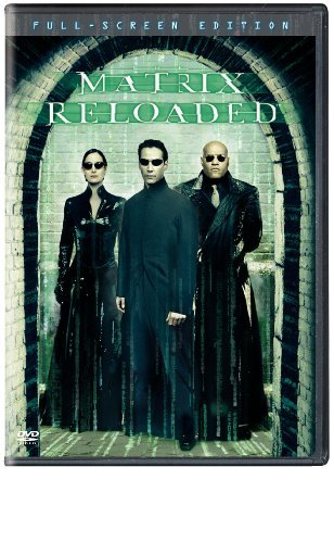 Matrix Reloaded Reeves Fishburne Moss Pinkett Clr R