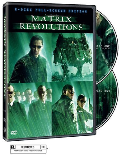 Matrix Revolutions Reeves Fishburne Moss Bellucci Clr R 2 DVD