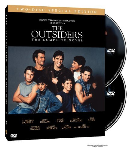 Outsiders Swayze Howell Dillon Cruise Clr Ws O Sleeve Pg13 2 DVD Extended Ed.