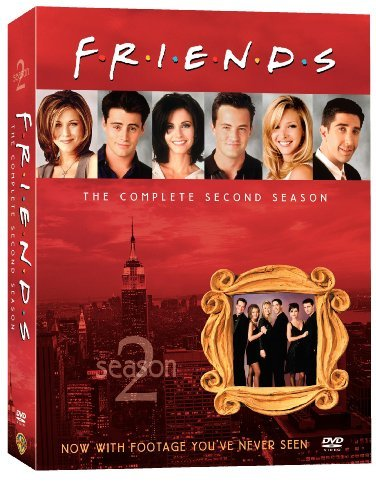 Friends Season 2 Clr Nr 4 DVD