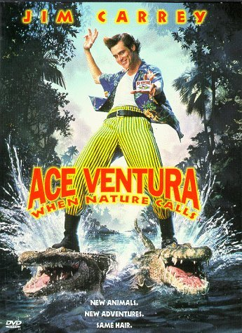 Ace Ventura When Nature Calls Carrey Mcneice Callow Eziashi Ws Fs Snap Pg13