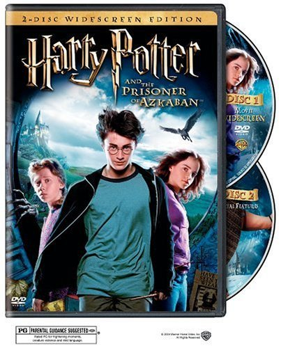Harry Potter & The Prisoner Of Radcliffe Harris Grint Watson Clr Ws Pg 2 DVD