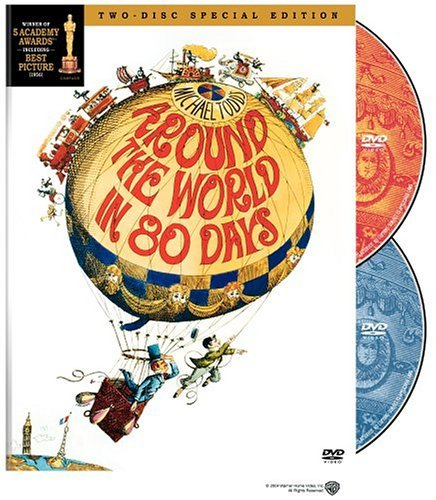 Around The World In 80 Days Niven Cantinflas Maclaine Newt G 2 DVD Special