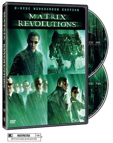 Matrix Revolutions Reeves Fishburne Moss Bellucci DVD R Ws