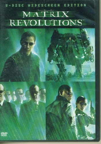 Matrix Revolutions Reeves Weaving Fishburne Moss