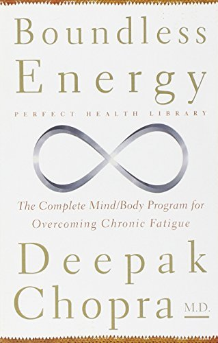 Deepak Chopra Boundless Energy The Complete Mind Body Program For Overcoming Chr 0002 Edition;