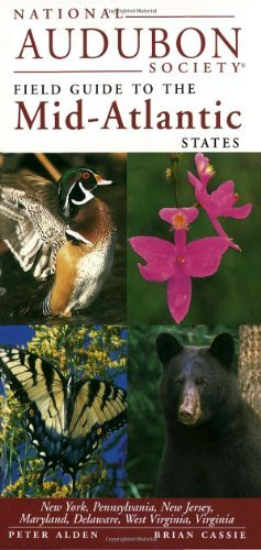Chanticleer Press Inc National Audubon Society Guide To The Mid Atlantic