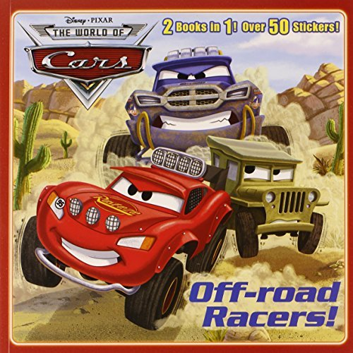 Frank Berrios Off Road Racers! Crash Course! [with Sticker(s)]