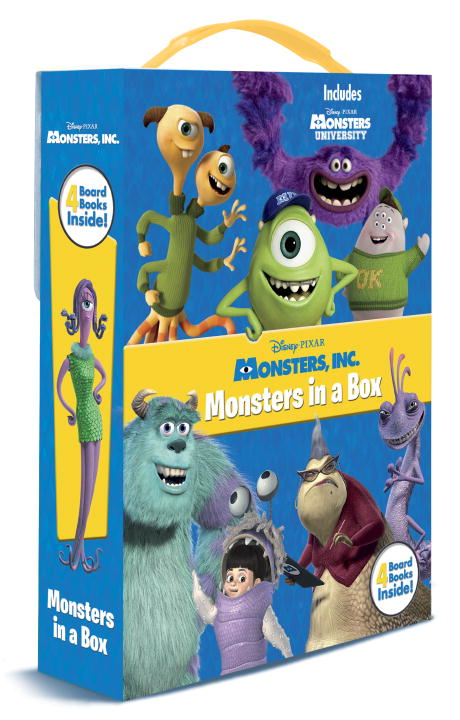 Disney Storybook Artists Monsters Inc. Monsters In A Box