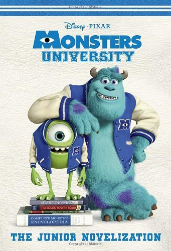 Rh Disney Monsters University The Junior Novelization