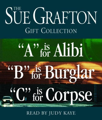 "Sue Grafton Sue Grafton Abc Gift Collection ""a"" Is For Alibi ""b"" Is For Burglar ""c"" Is For Abridged"