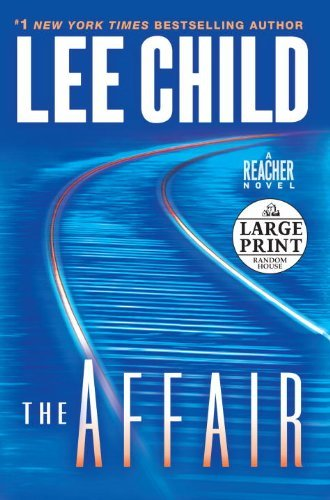 Lee Child The Affair Large Print