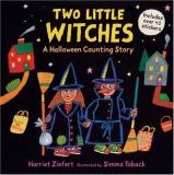 Harriet Ziefert Two Little Witches A Halloween Counting Story Sticker Book [with 40