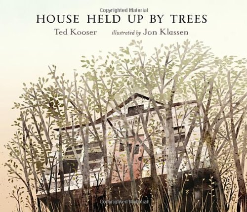 Ted Kooser House Held Up By Trees