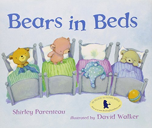 Shirley Parenteau Bears In Beds