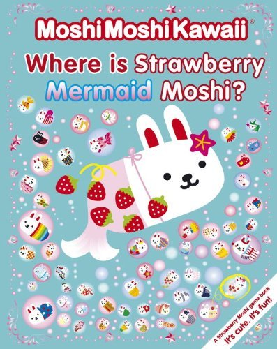 Candlewick Press Where Is Strawberry Mermaid Moshi?