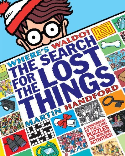 Martin Handford Where's Waldo? The Search For The Lost Things