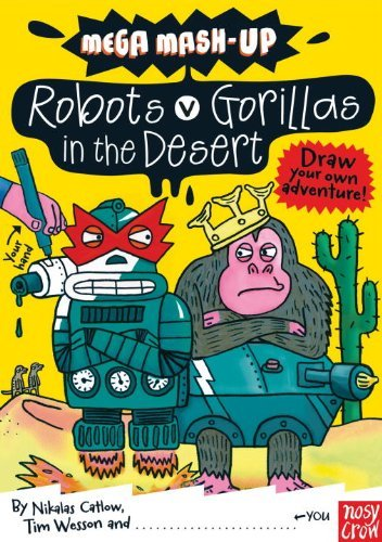 Nikalas Catlow Robots Vs. Gorillas In The Desert