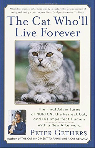 Peter Gethers The Cat Who'll Live Forever The Final Adventures Of Norton The Perfect Cat