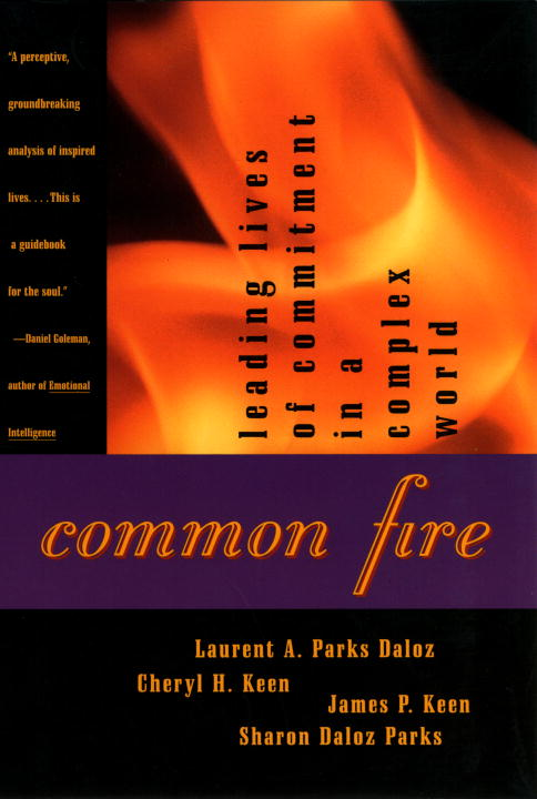 Laurent A. Daloz Common Fire Leading Lives Of Commitment In A Complex World