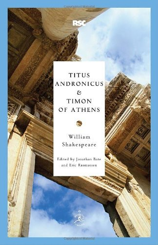 William Shakespeare Titus Andronicus And Timon Of Athens
