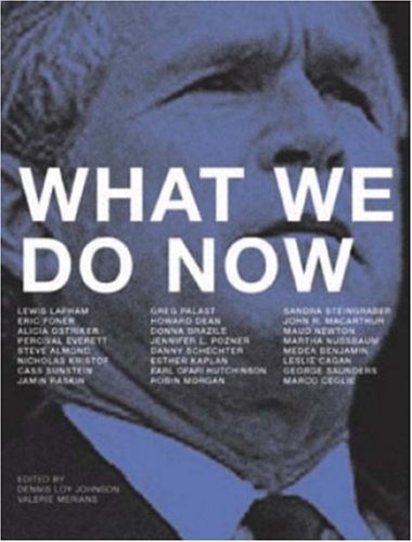 Dennis Loy Johnson What We Do Now