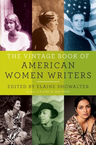 Elaine Showalter The Vintage Book Of American Women Writers