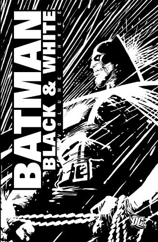 Doug Alexander Batman Black & White Volume Three