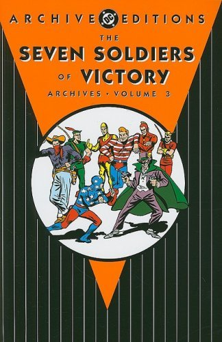 Joe Samachson Seven Soldiers Of Victory Archives Vol .3