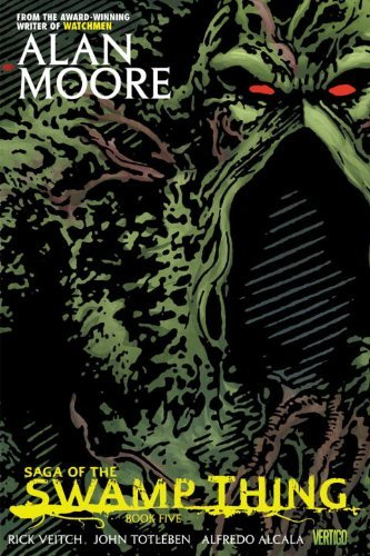 Alan Moore Saga Of The Swamp Thing Book Five