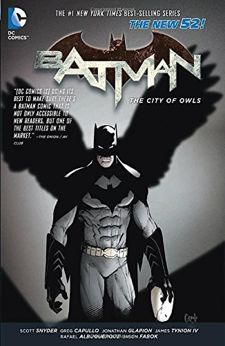 Scott Snyder Batman Vol. 2 The City Of Owls (the New 52)