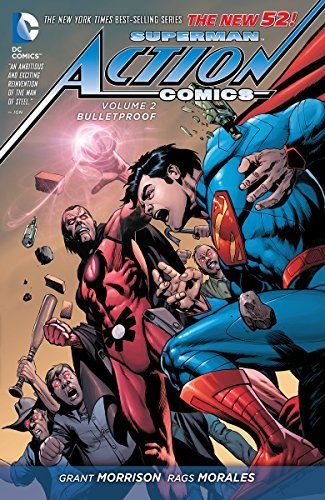 Grant Morrison Superman Action Comics Vol. 2 Bulletproof (the New 52)
