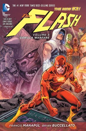 Francis Manapul Flash Vol. 3 The Gorilla Warfare (the New 52)