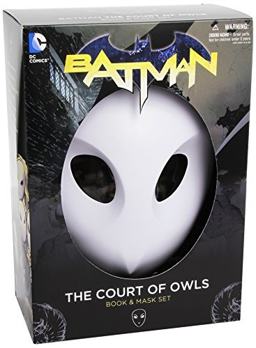 Scott Snyder Batman The Court Of Owls Mask And Book Set (the New 52)