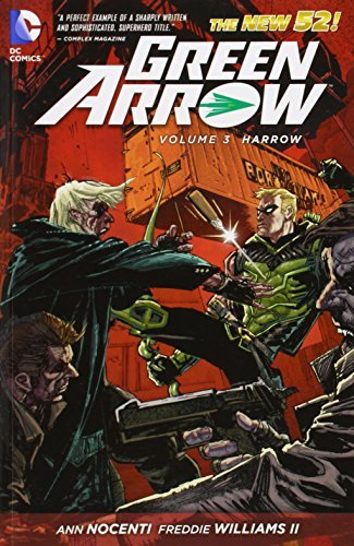 Jeff Lemire Green Arrow Vol. 3 Harrow (the New 52)