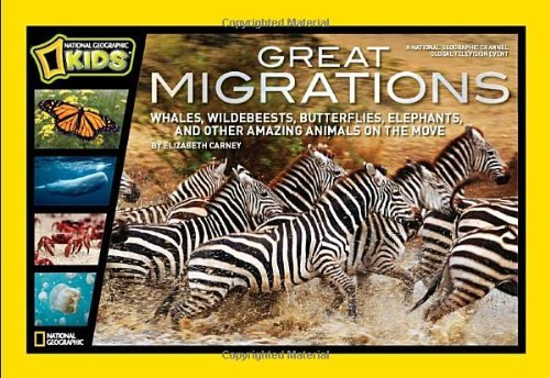 Elizabeth Carney Great Migrations Whales Wildebeests Butterflies Elephants And