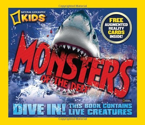 Nicola Davies Monsters Of The Deep [with 3 D Action Cards]