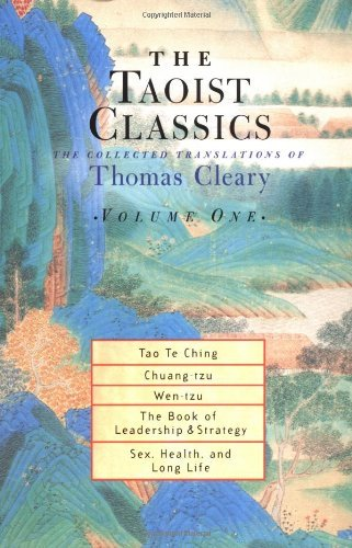 Thomas F. Cleary The Taoist Classics Volume 1 The Collected Translations Of Thomas Cleary