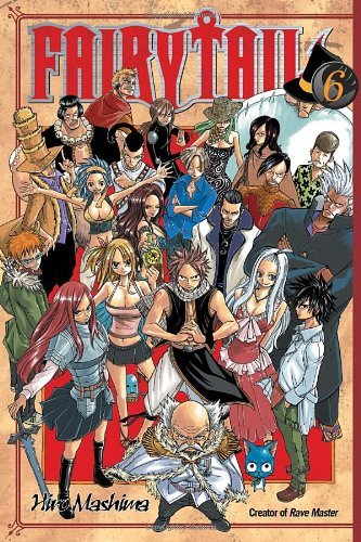 Hiro Mashima Fairy Tail 6