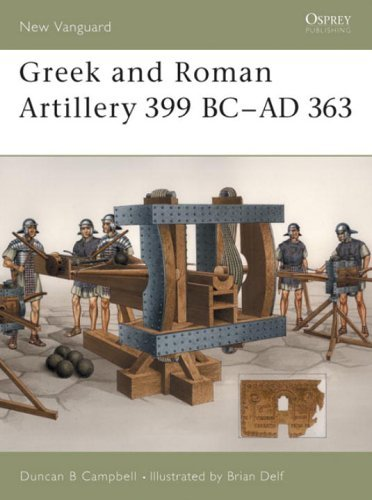 Duncan B. Campbell Greek And Roman Artillery 399 Bc Ad 363