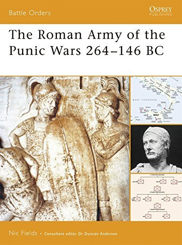 Nic Fields The Roman Army Of The Punic Wars 264 146 Bc