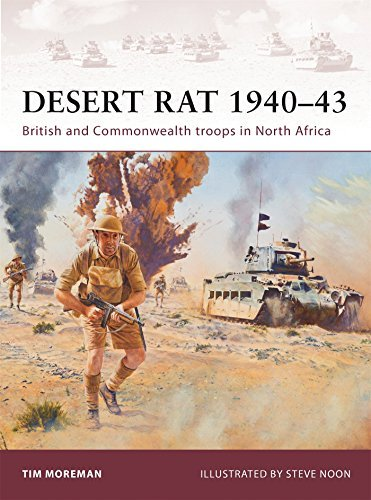 Tim Moreman Desert Rat 1940 43 British And Commonwealth Troops In North Africa