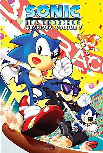 Mike Pellerito Sonic The Hedgehog Archives Volume 3