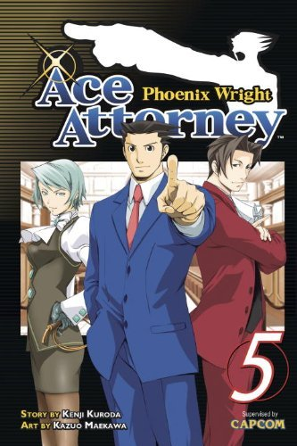 Kenji Kuroda Phoenix Wright Ace Attorney Volume 5