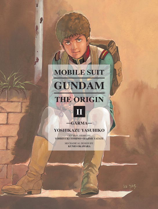 Yoshikazu Yasuhiko Mobile Suit Gundam The Origin Volume 2 Garma