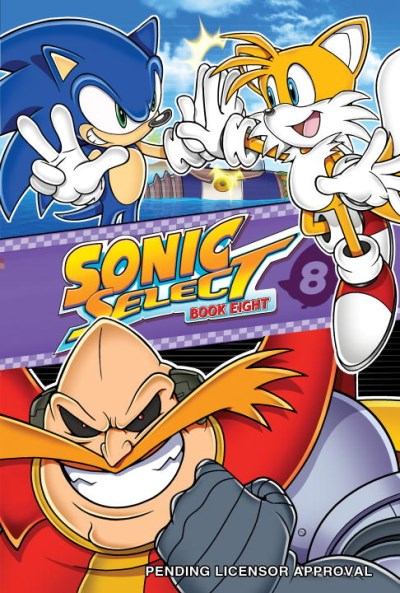 Sonic Scribes Sonic Select Book 8