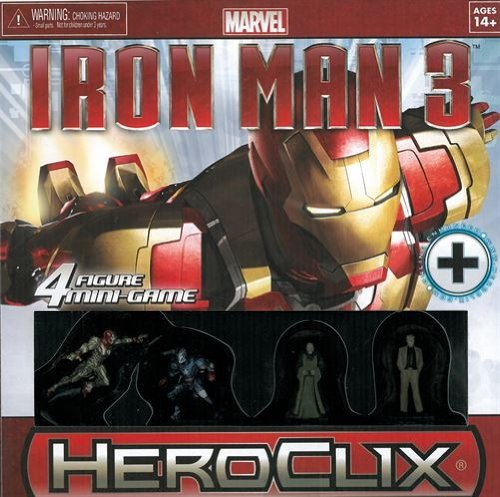 Heroclix Iron Man 3 Four Figure Mini Game
