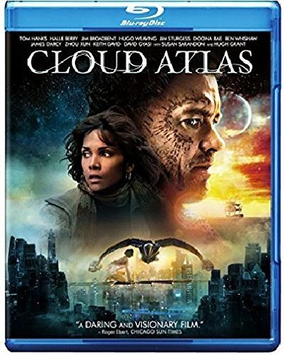 Cloud Atlas Hanks Berry Blu Ray DVD Uv R Ws